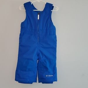 Columbia Baby Boys Blue Snowslope Size 6-12Month